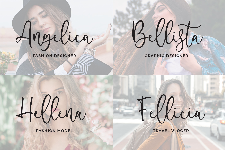 Famella - Modern Calligraphy example image 2