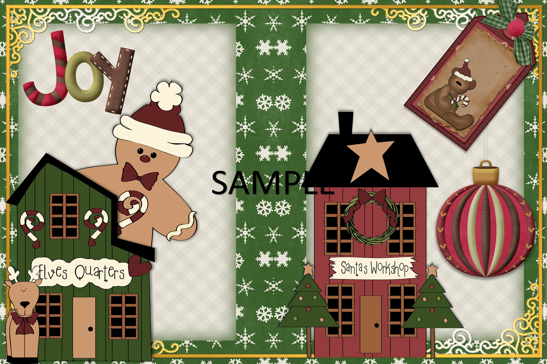 Children's Christmas Journal Kit with Free Ephemera example image 9