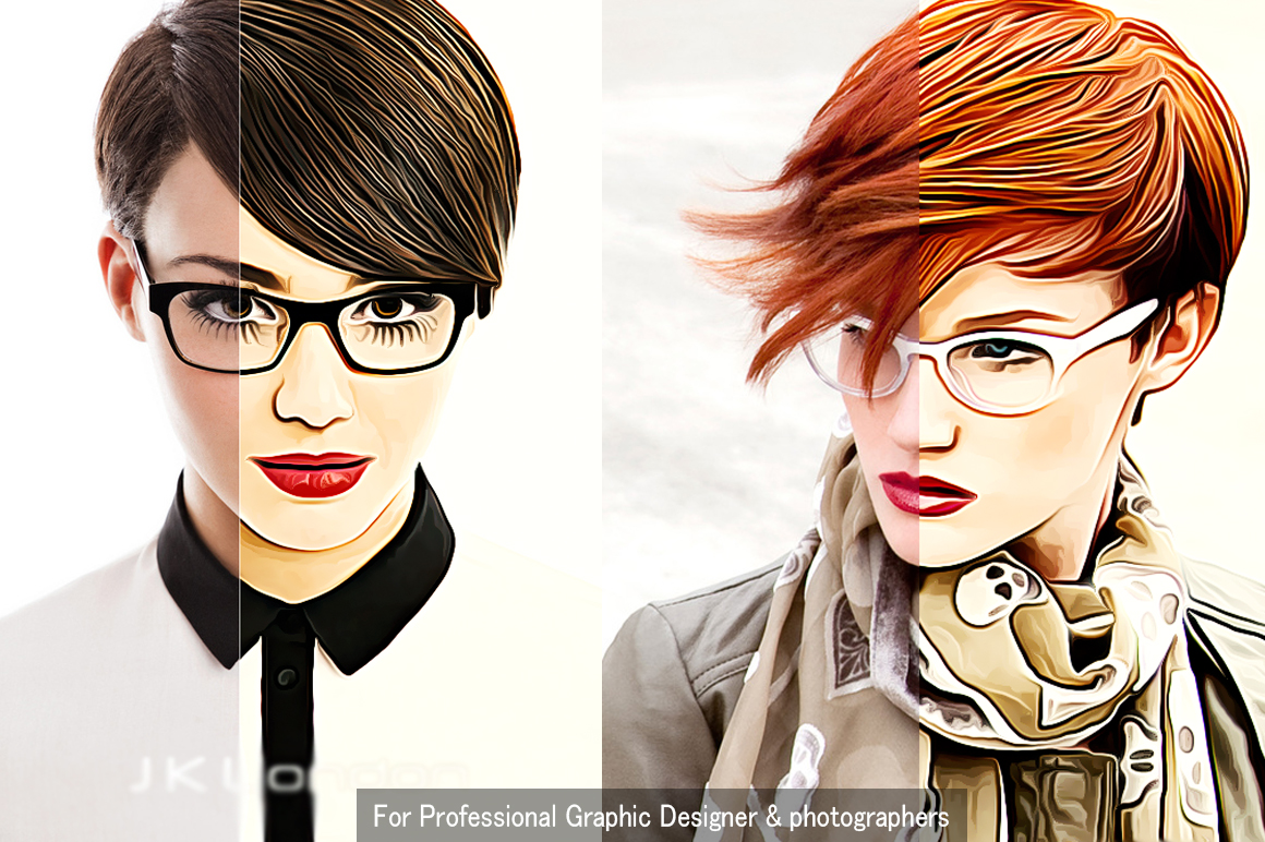 Creative Oil Paint Photoshop Action example image 3