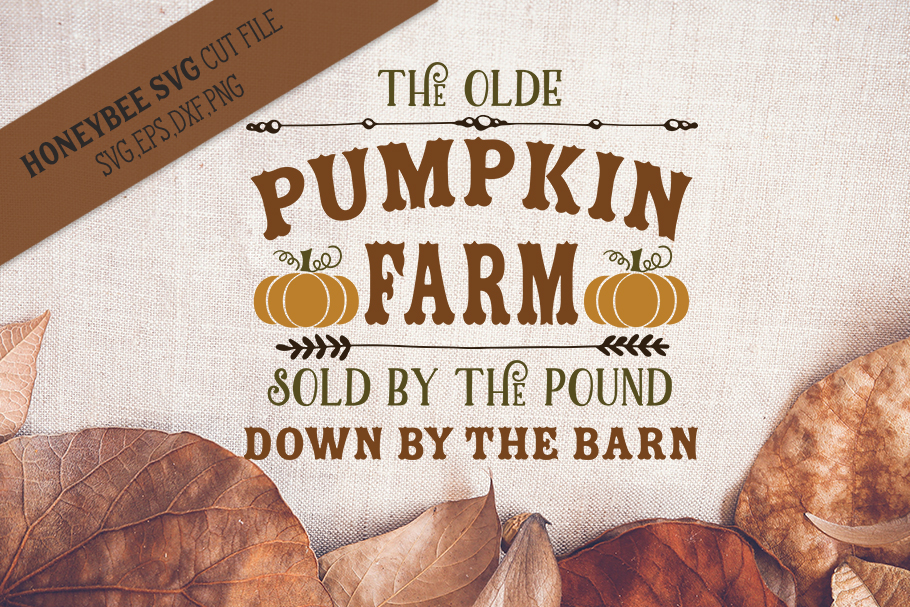The Olde Pumpkin Farm svg example image 1