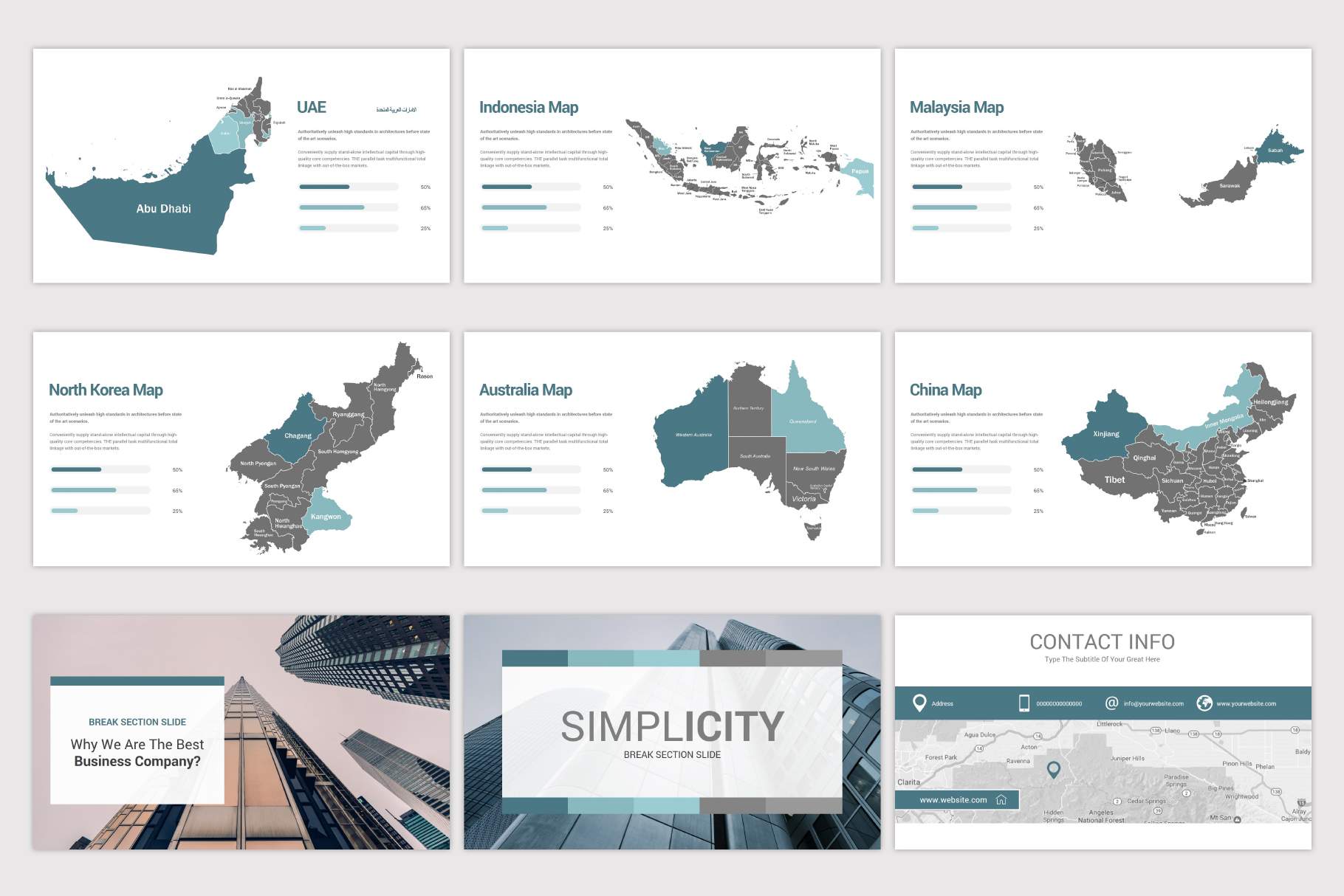 Simplicity PowerPoint Template example image 25