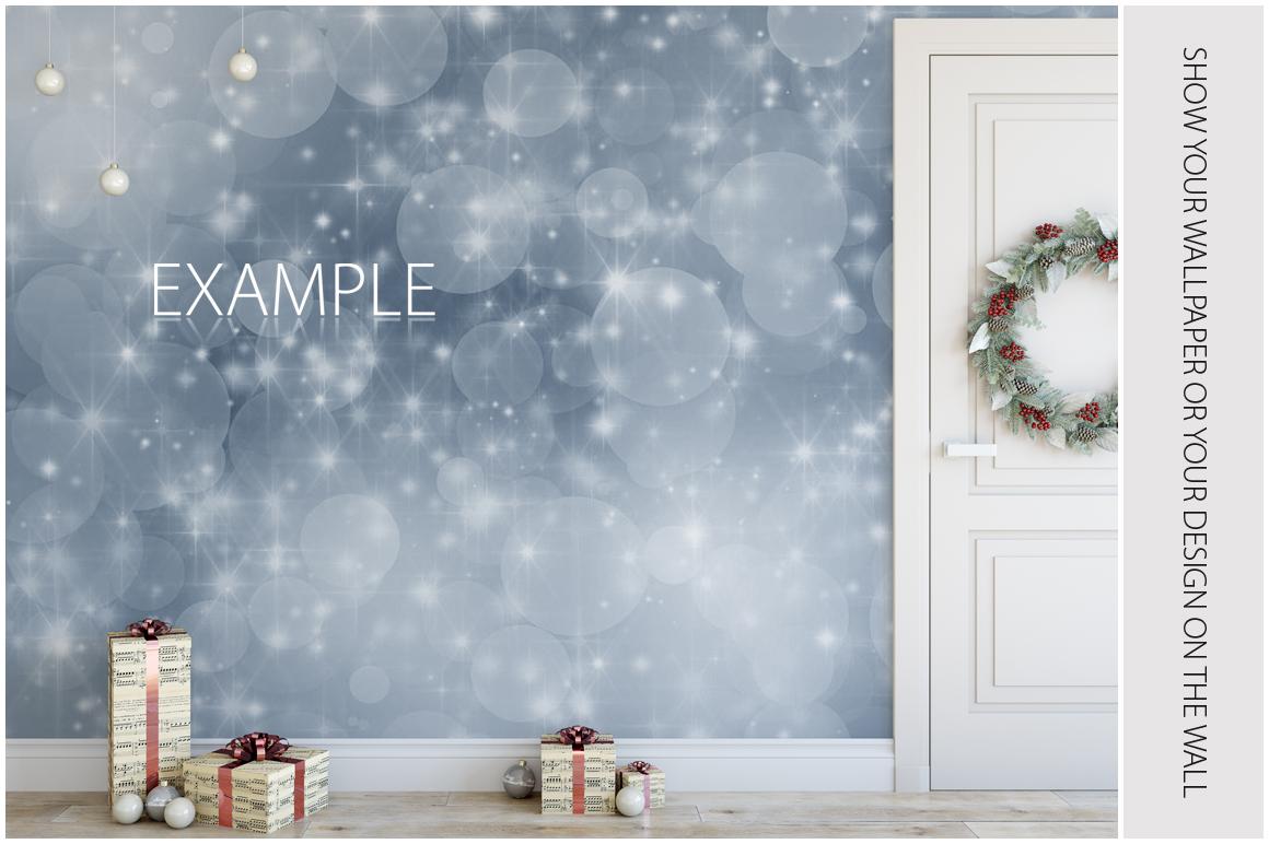 Christmas Wall Mockups example image 9
