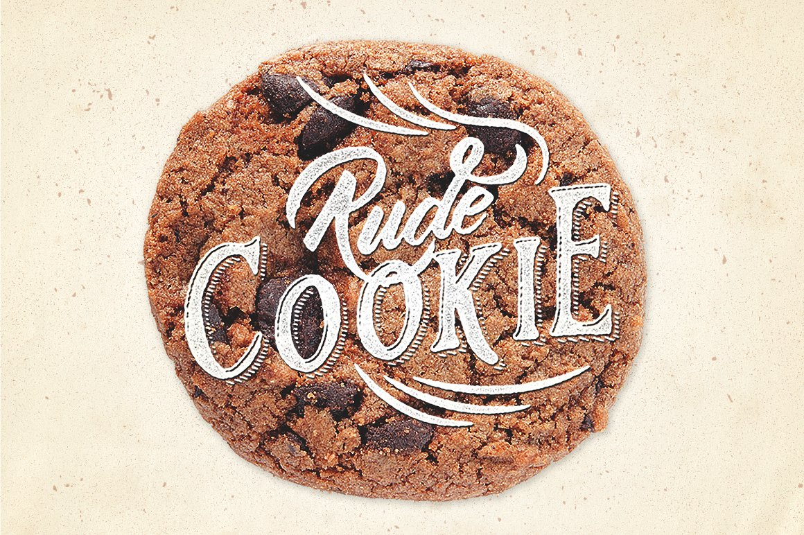 Rude Cookie Font Layer example image 1