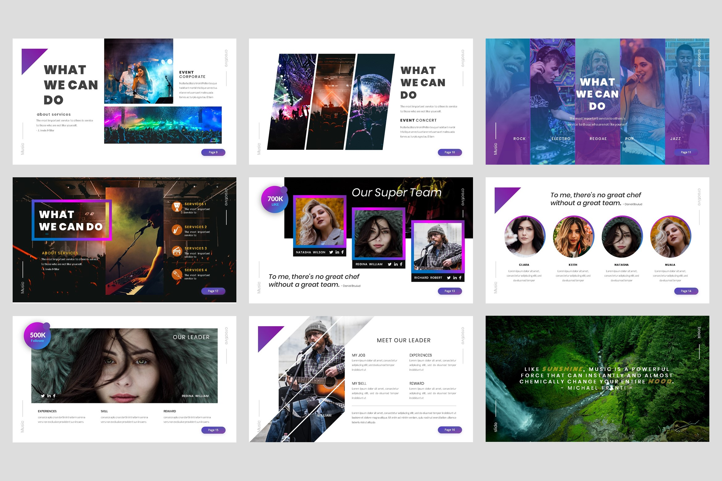 Music - Event Keynote Template example image 3