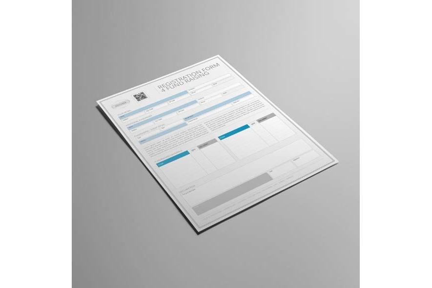 Registration Form 4 Fund Raising example image 5