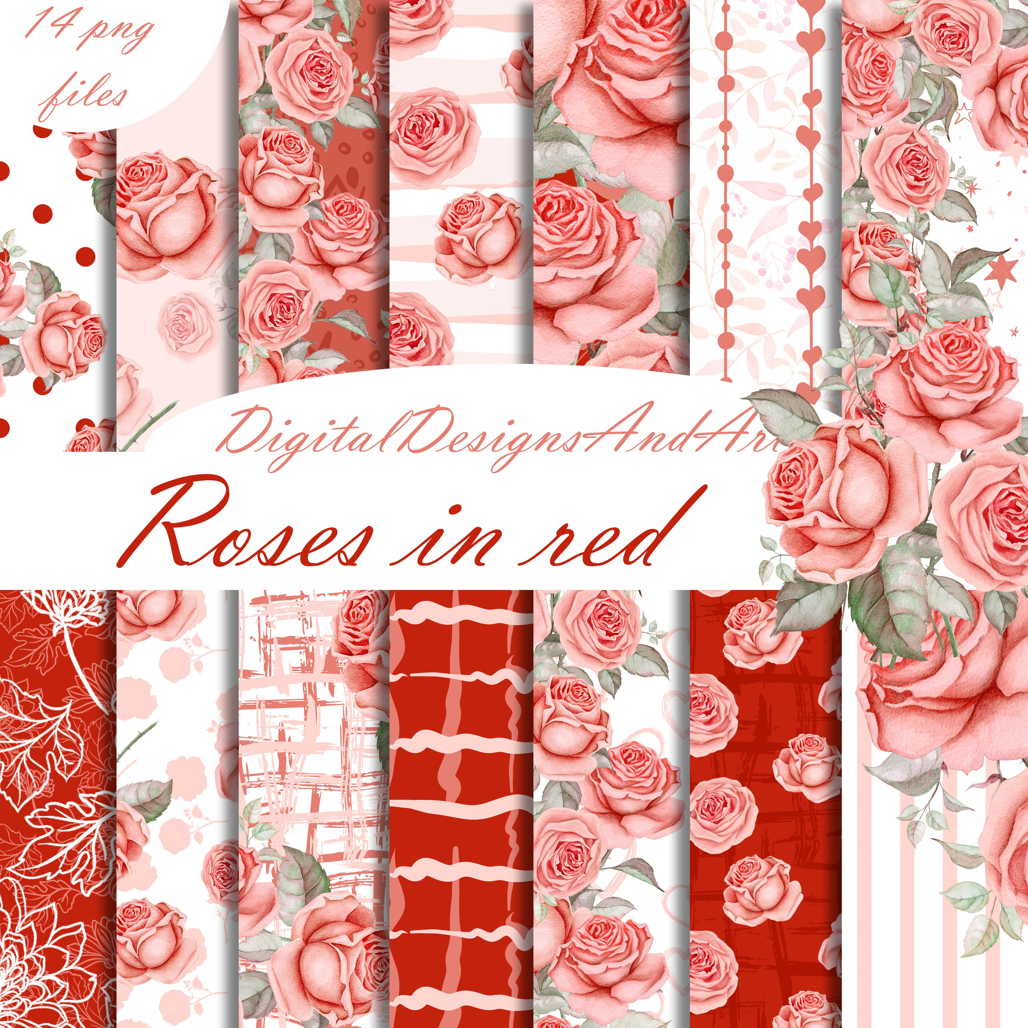Roses in red example image 1