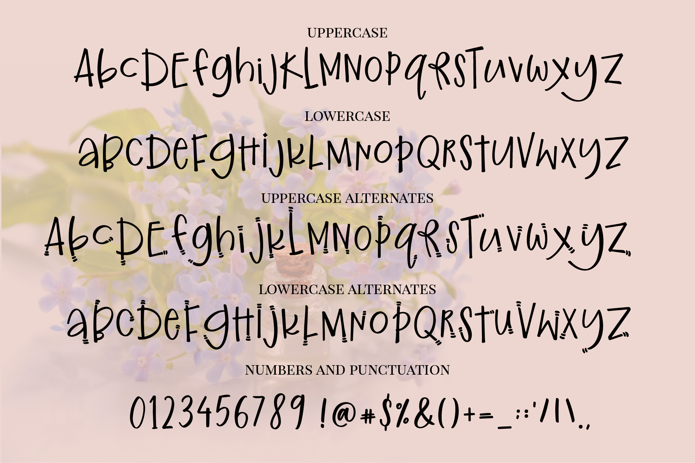 Ginger and Kale - a fun whimsical font example image 6