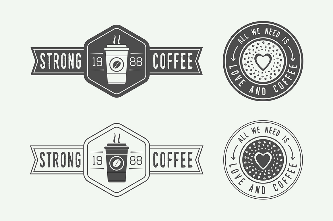 16 coffee emblems example image 4