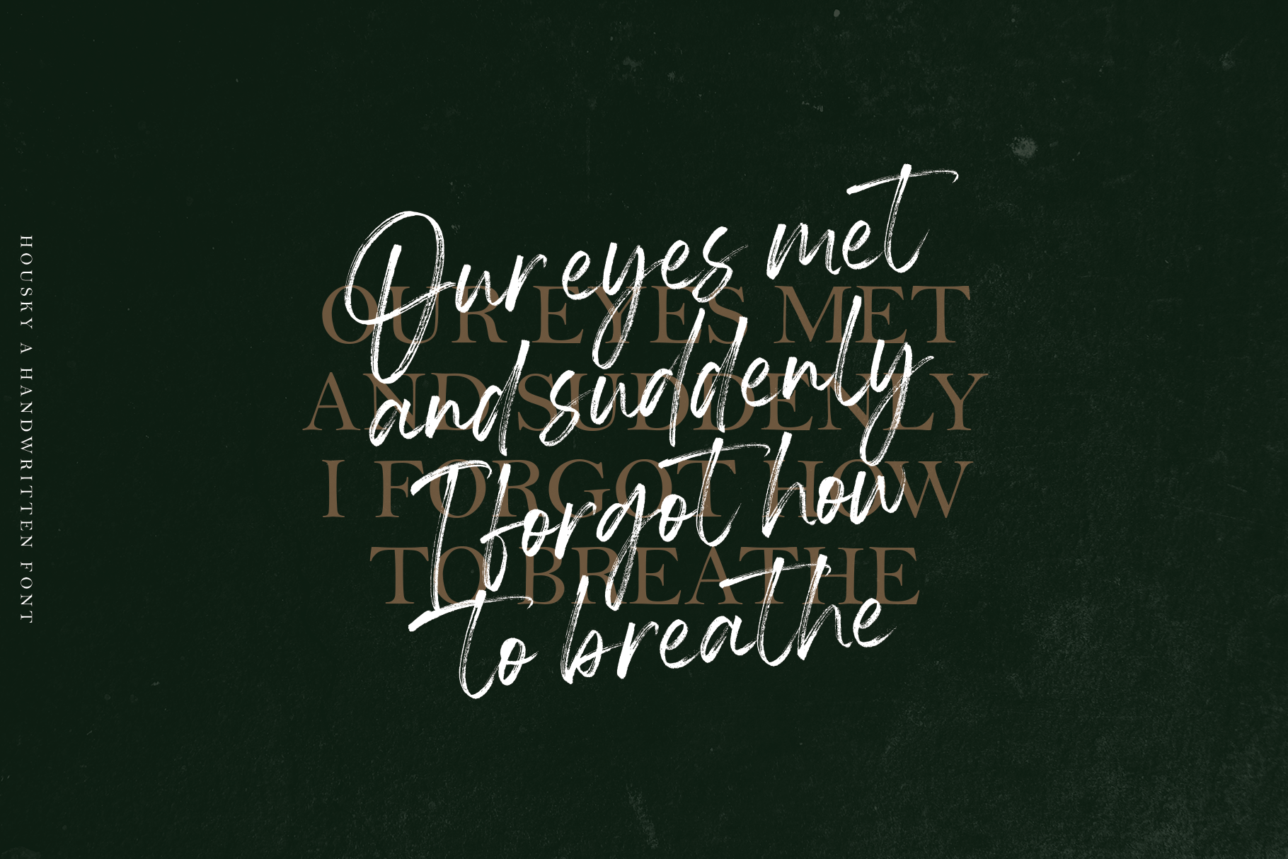 Housky - Handwritten Font example image 3