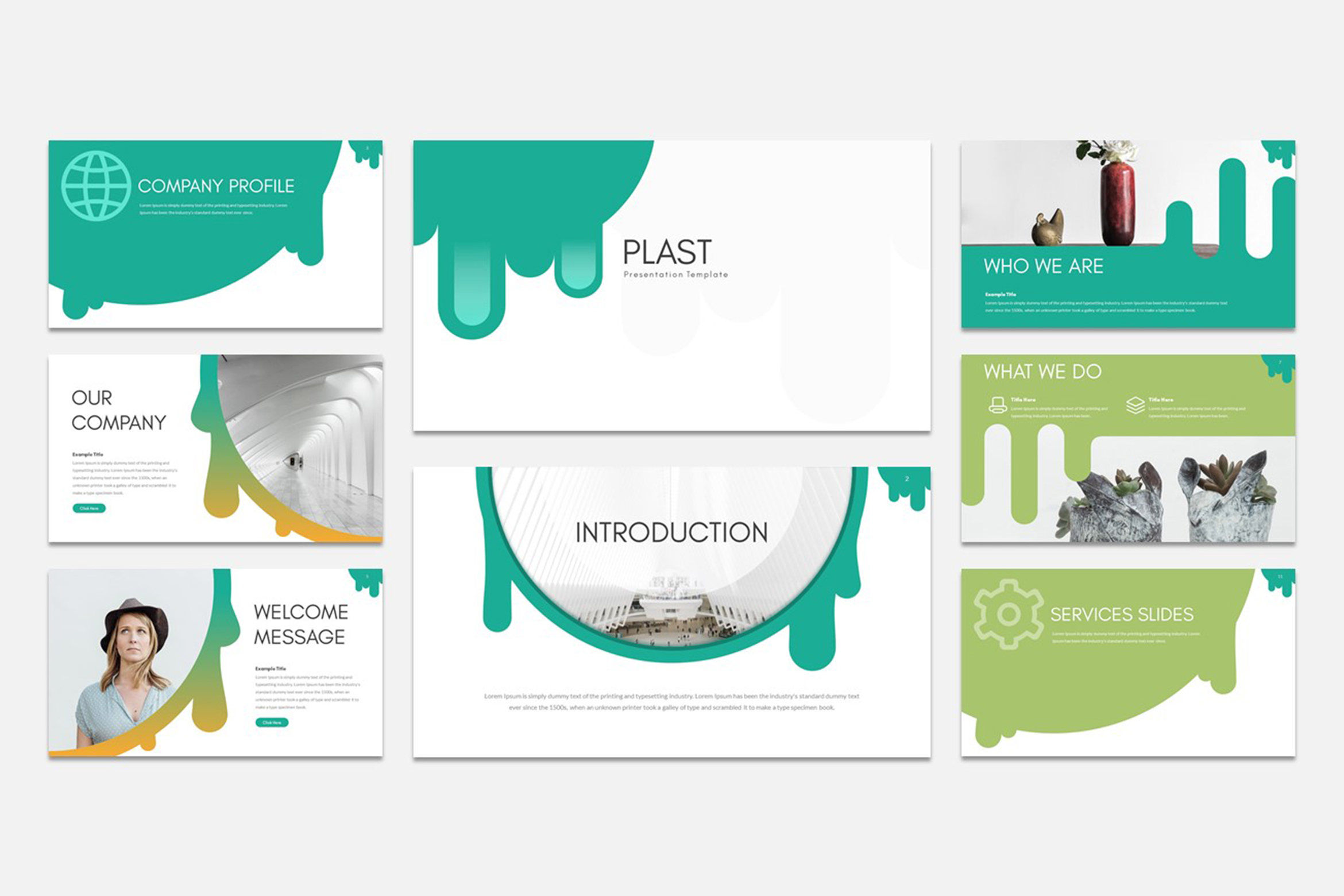 PLAST - Multipurpose Keynote Presentation Template example image 5