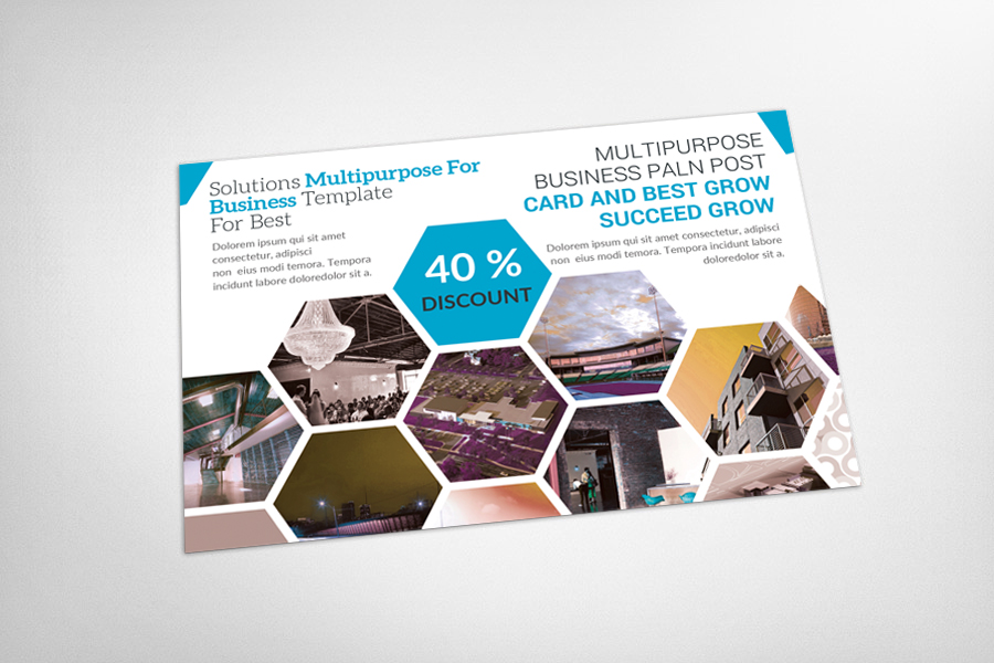 Multipurpose Business Postcard example image 3