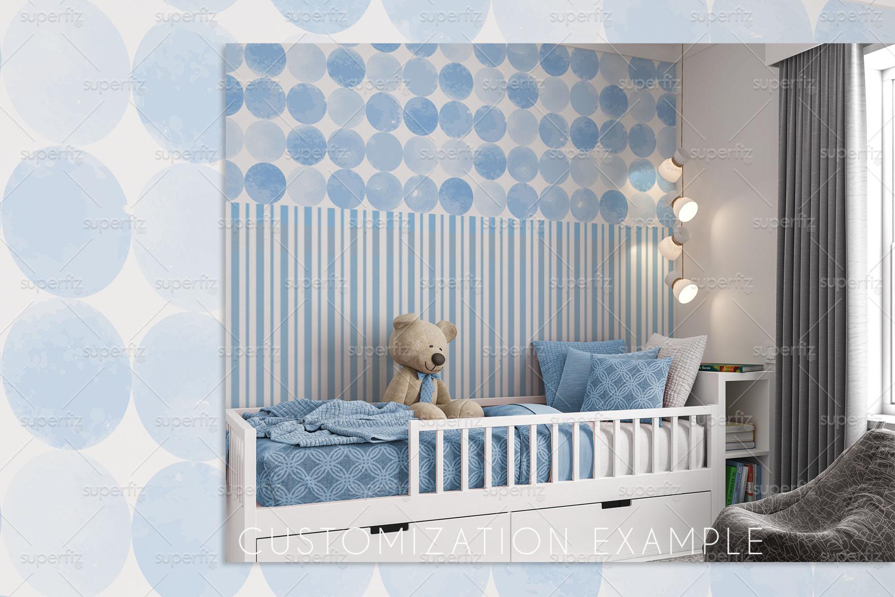 Wallpaper Mockup Kids Bedroom SM61 example image 6