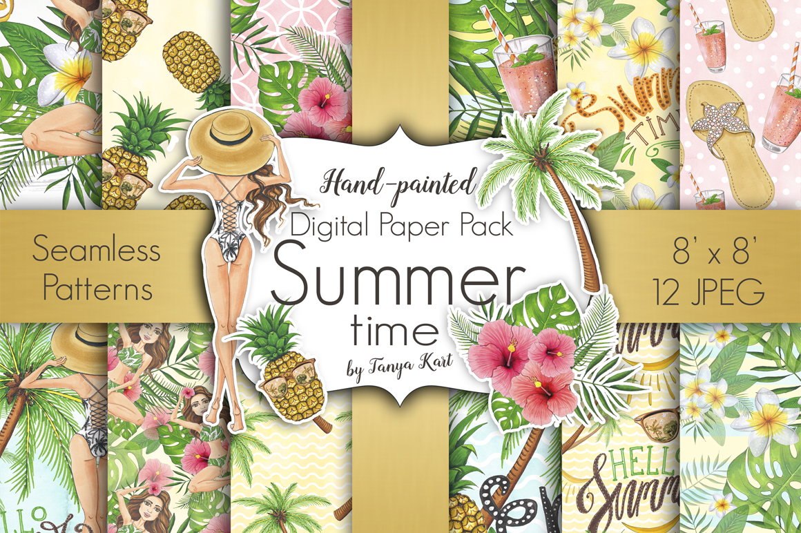 Summer Time Hand-painted Collection example image 6