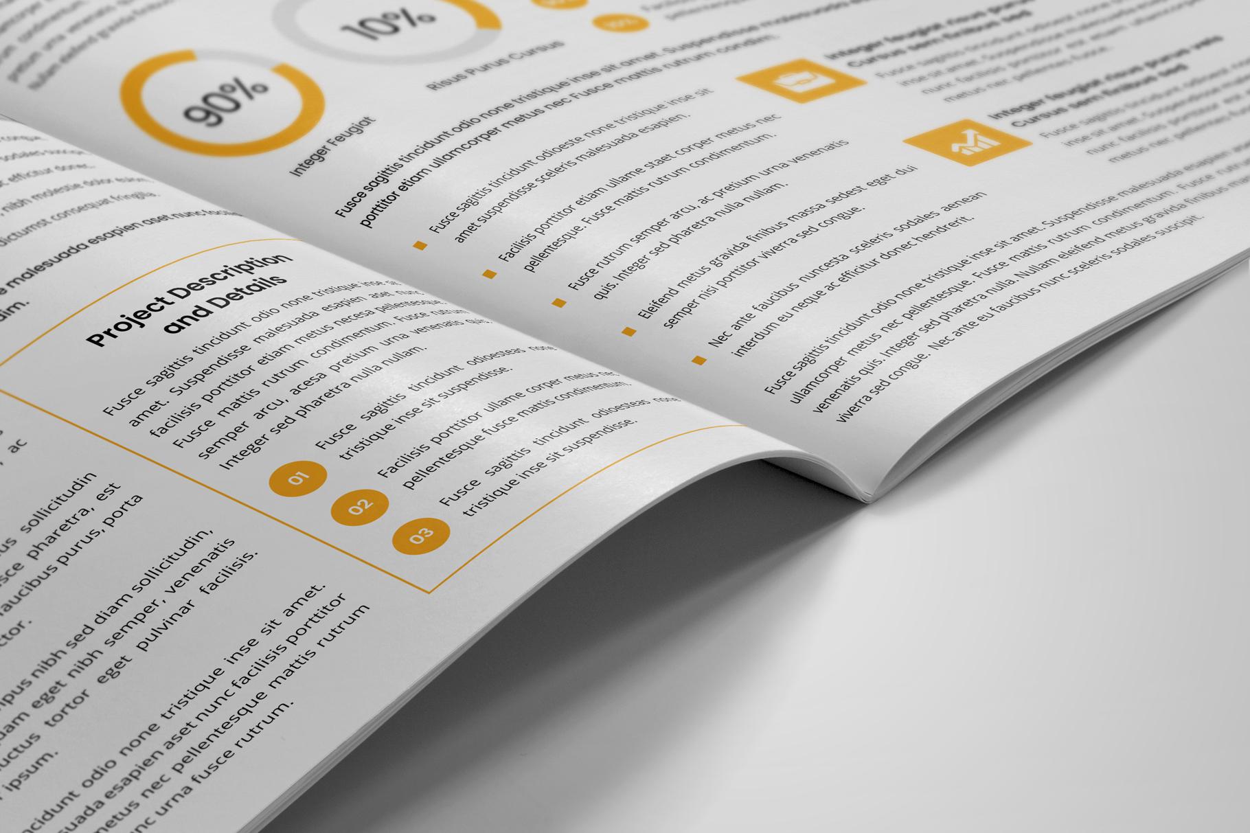 Company Profile Brochure v10 example image 8