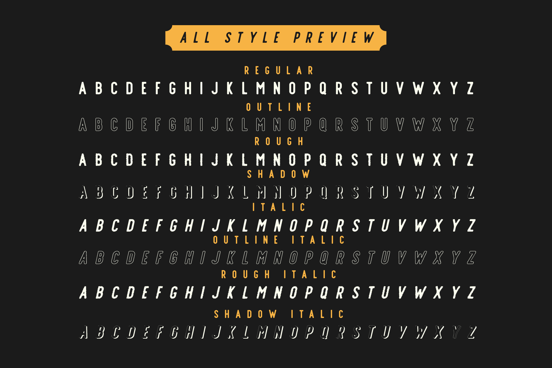 Offlander - Font Family example image 7