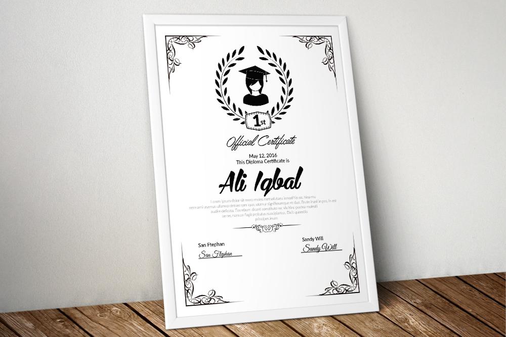 10 Certificates Template Bundle example image 4