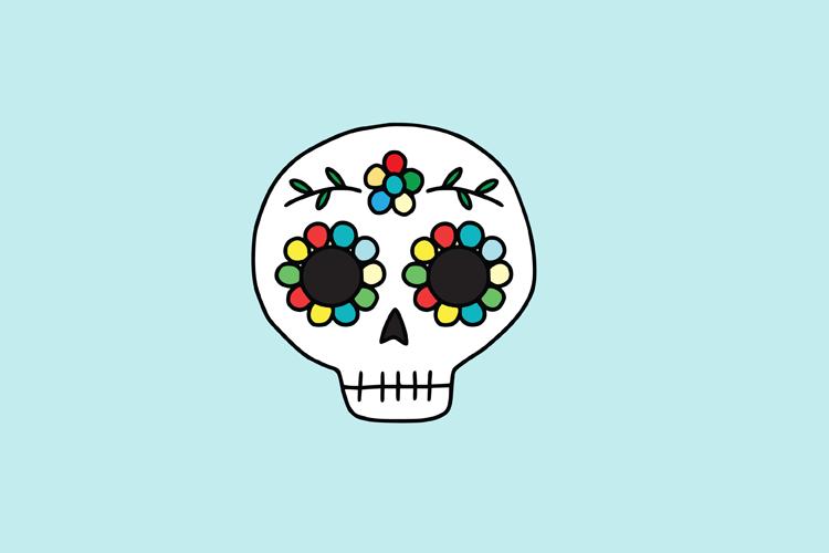 Skull SVG example image 2