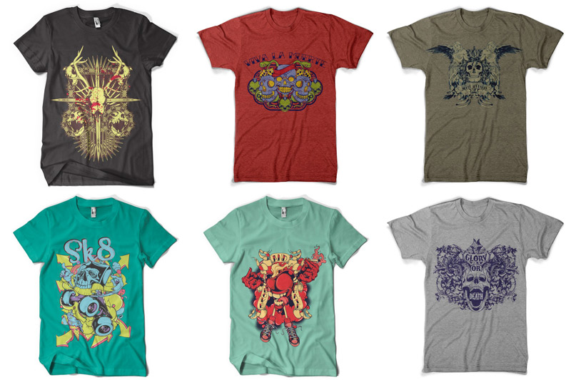 100 T-shirt Designs Vol 4 example image 15