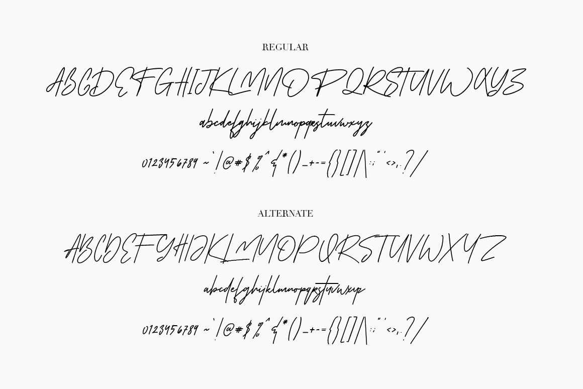 Susanti Signature Font example image 6