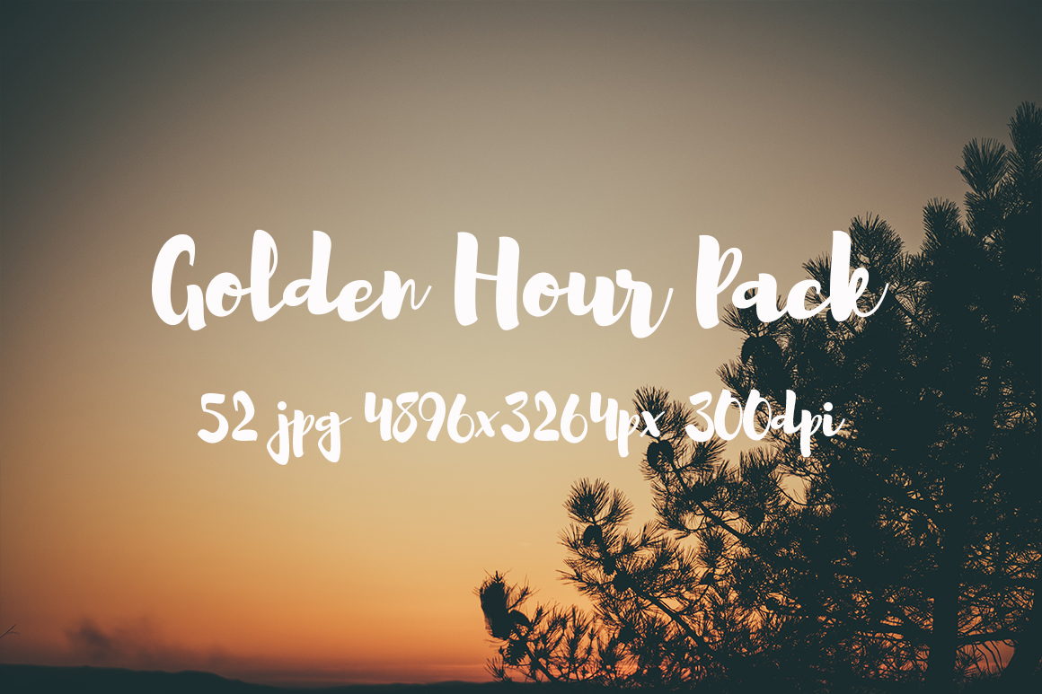 Golden hour Pack example image 9
