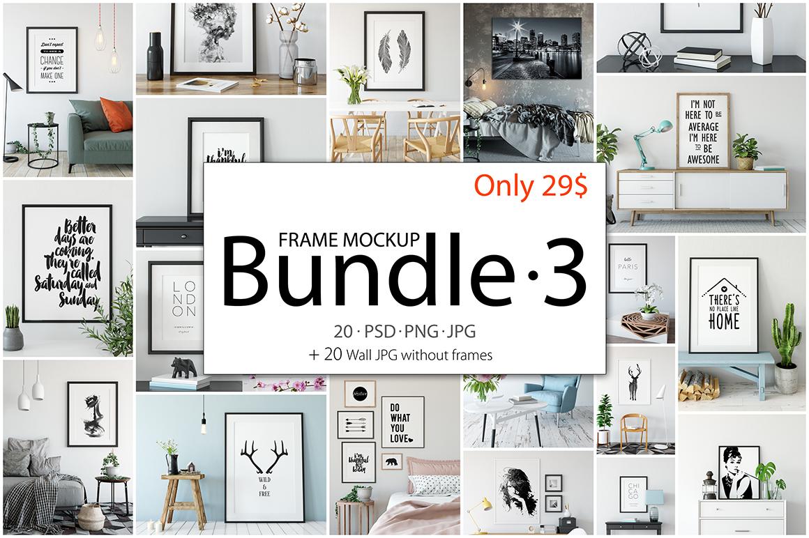 Frame Mockup Bundle Vol 3 example image 1