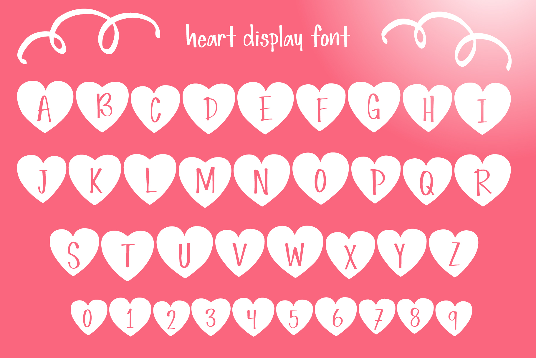 Simple Love Font example image 3