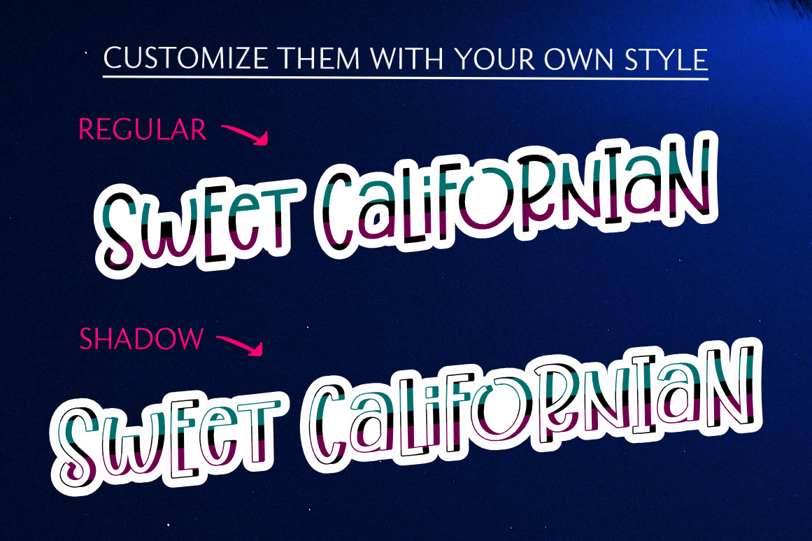 Best Friend Forever- A Casual & Playful Font Trio. example image 5