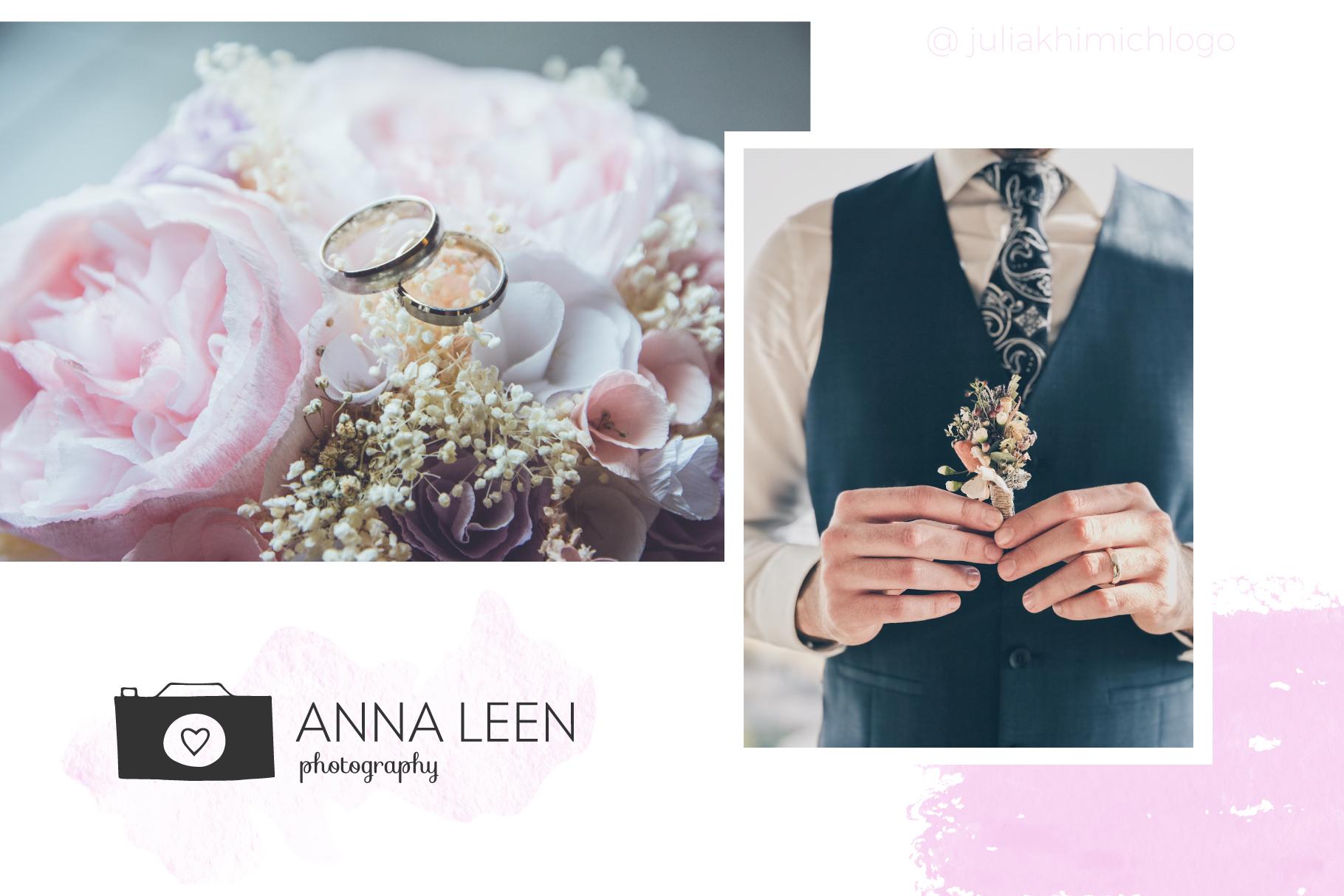 Logo Pack Vol.1. Romantic & Wedding example image 2