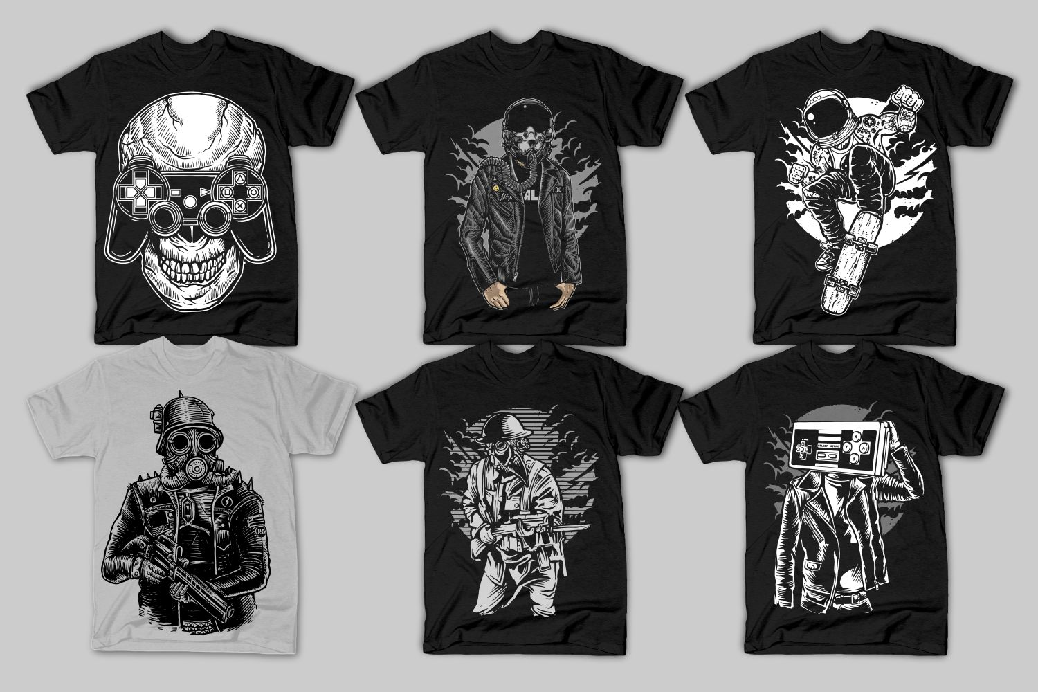 82 Tshirt Designs Bundle example image 13