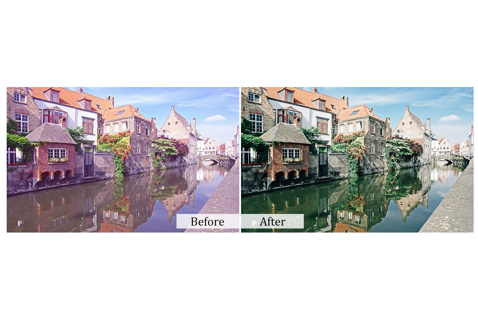 30 Cityscape Photoshop Actions example image 4