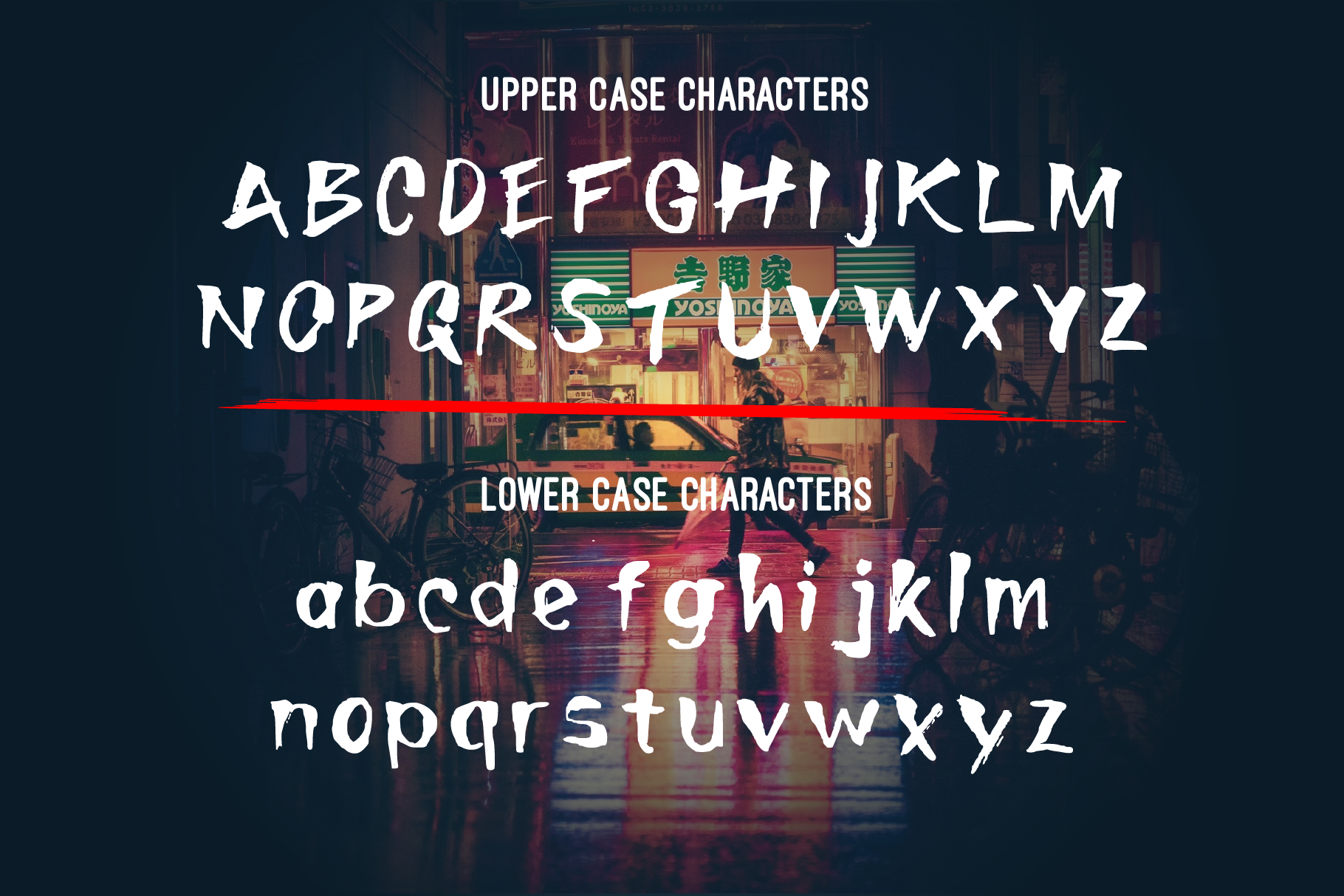 Toshi Emori - Handcrafted Font example image 2