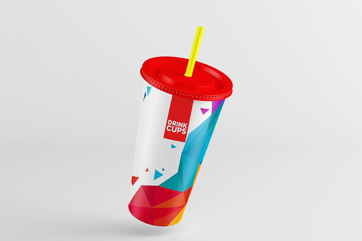 Drink Cups Mock-Up example image 5