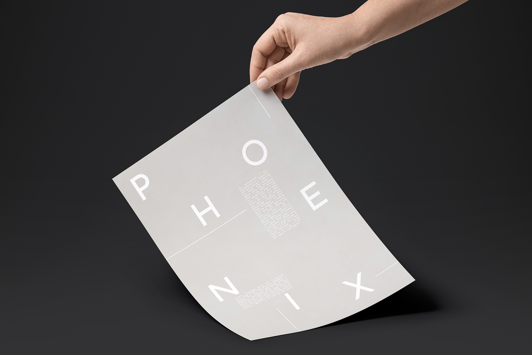 Phoenix | A Multi-Weight Sans example image 10