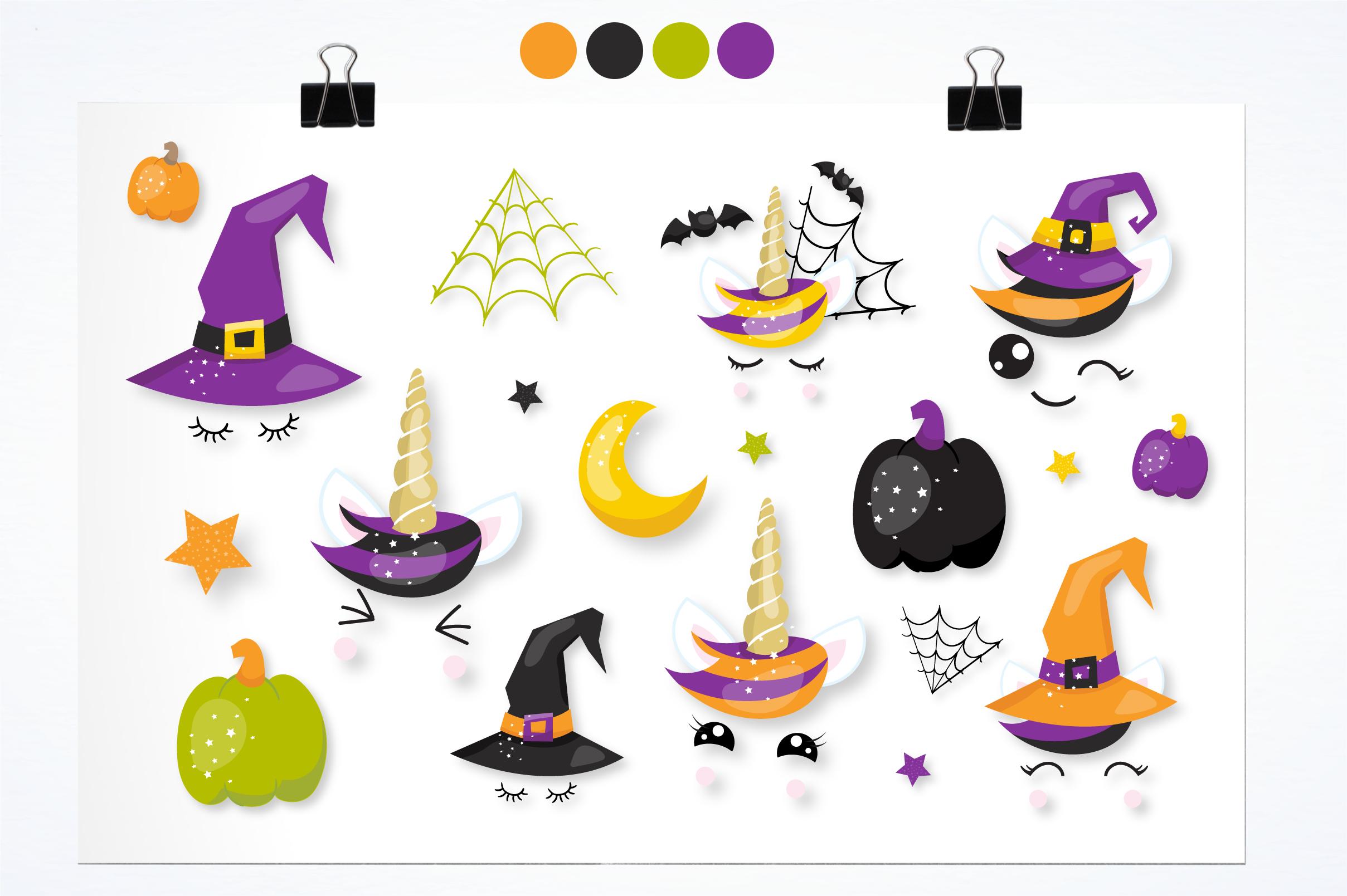 Halloween unicorns graphics and illustrations example image 4