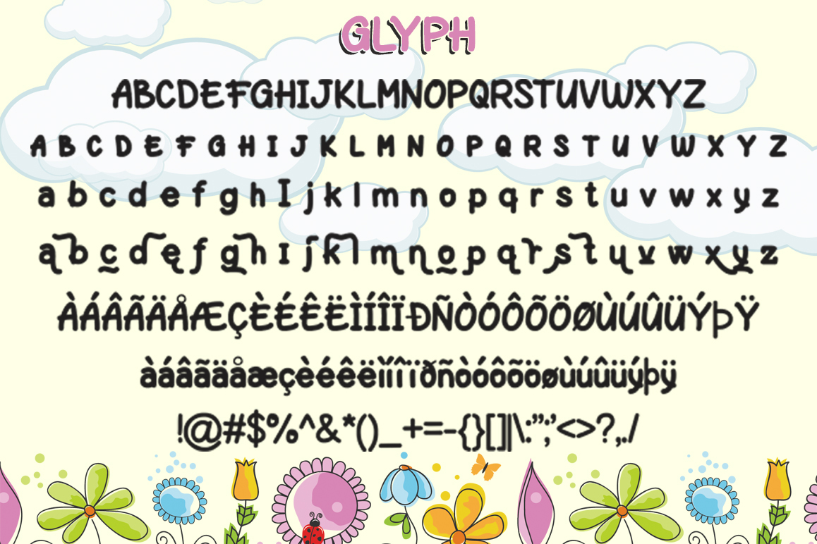 Play-on || UPDATE with Layered Font example image 2