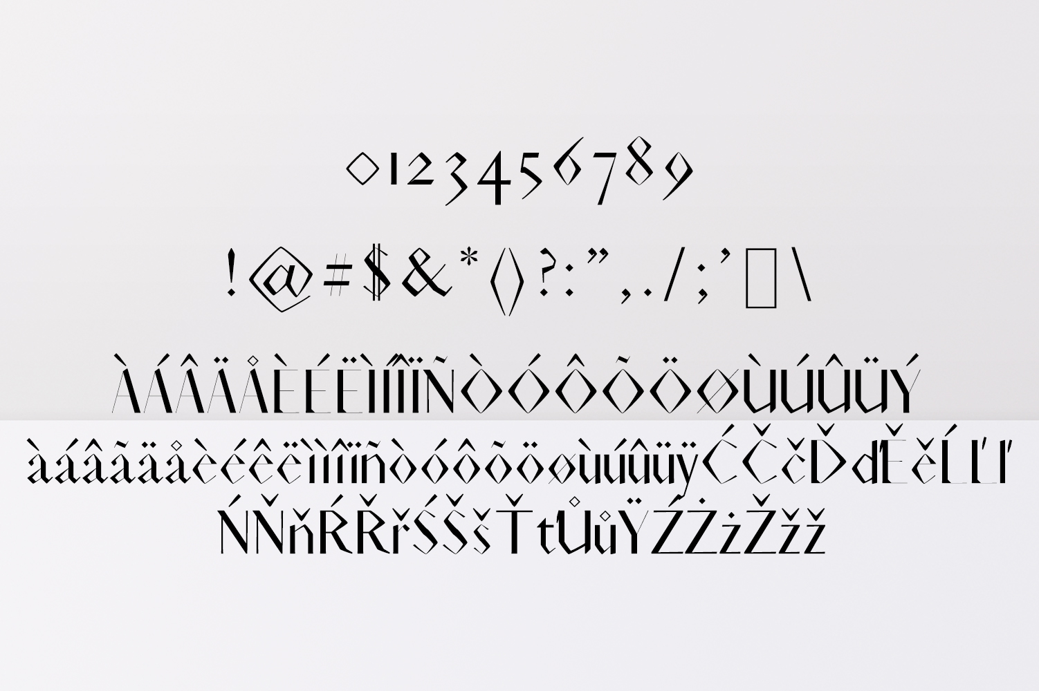 Acacio Serif 2 Font Family Pack example image 4