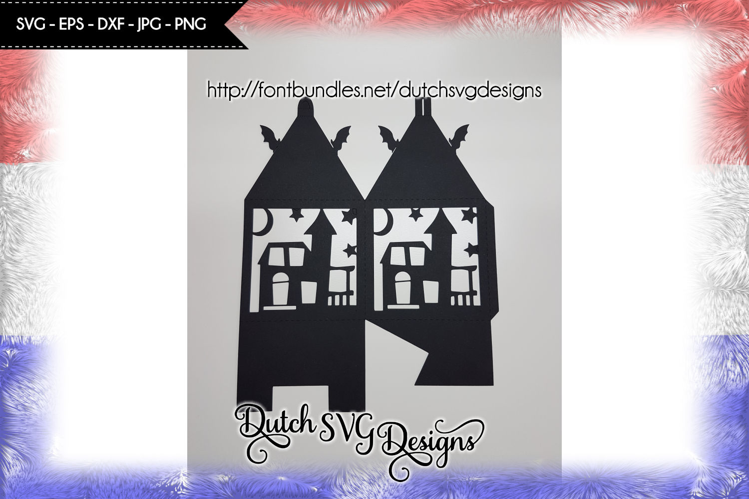 Halloween lantern cutting file, halloween lantern svg example image 2