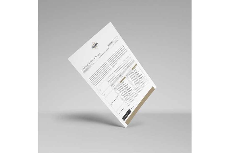 A4 Job Analysis Worksheet Template example image 6