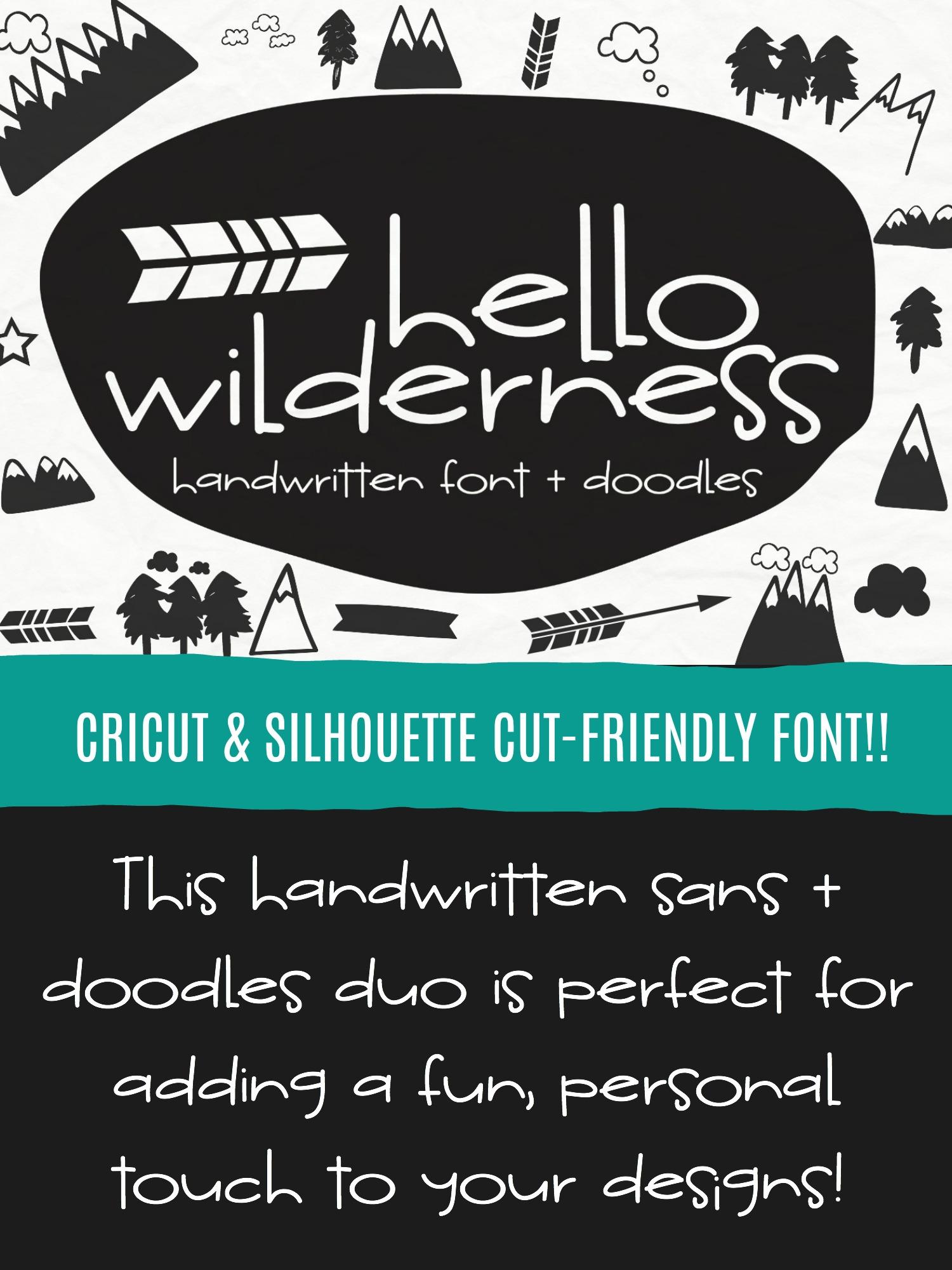 Hello Wilderness Sans example image 6