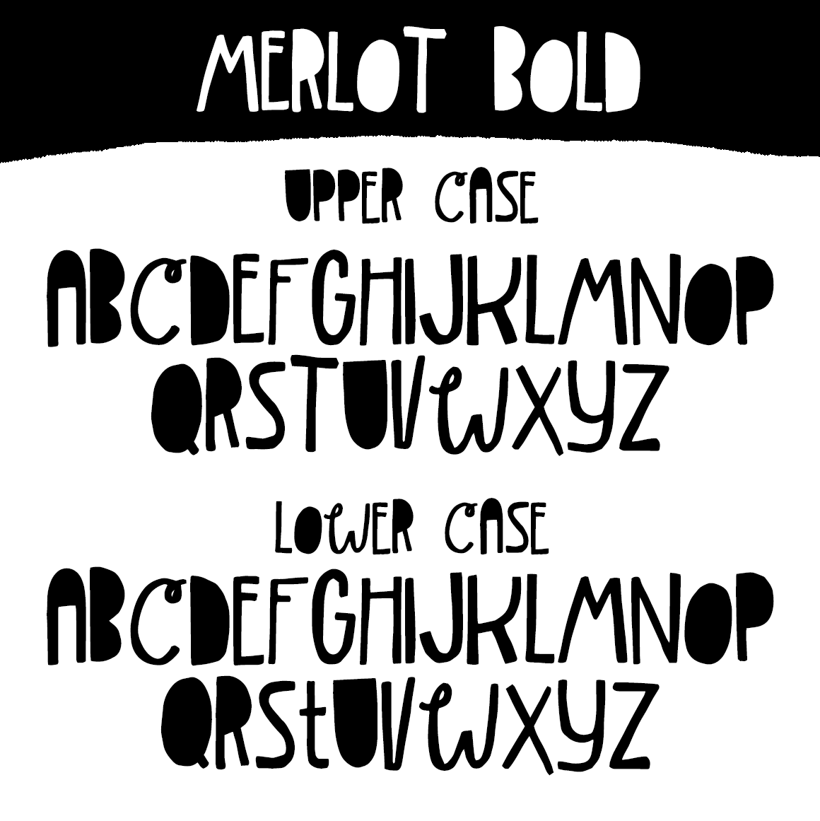 Merlot Font example image 4