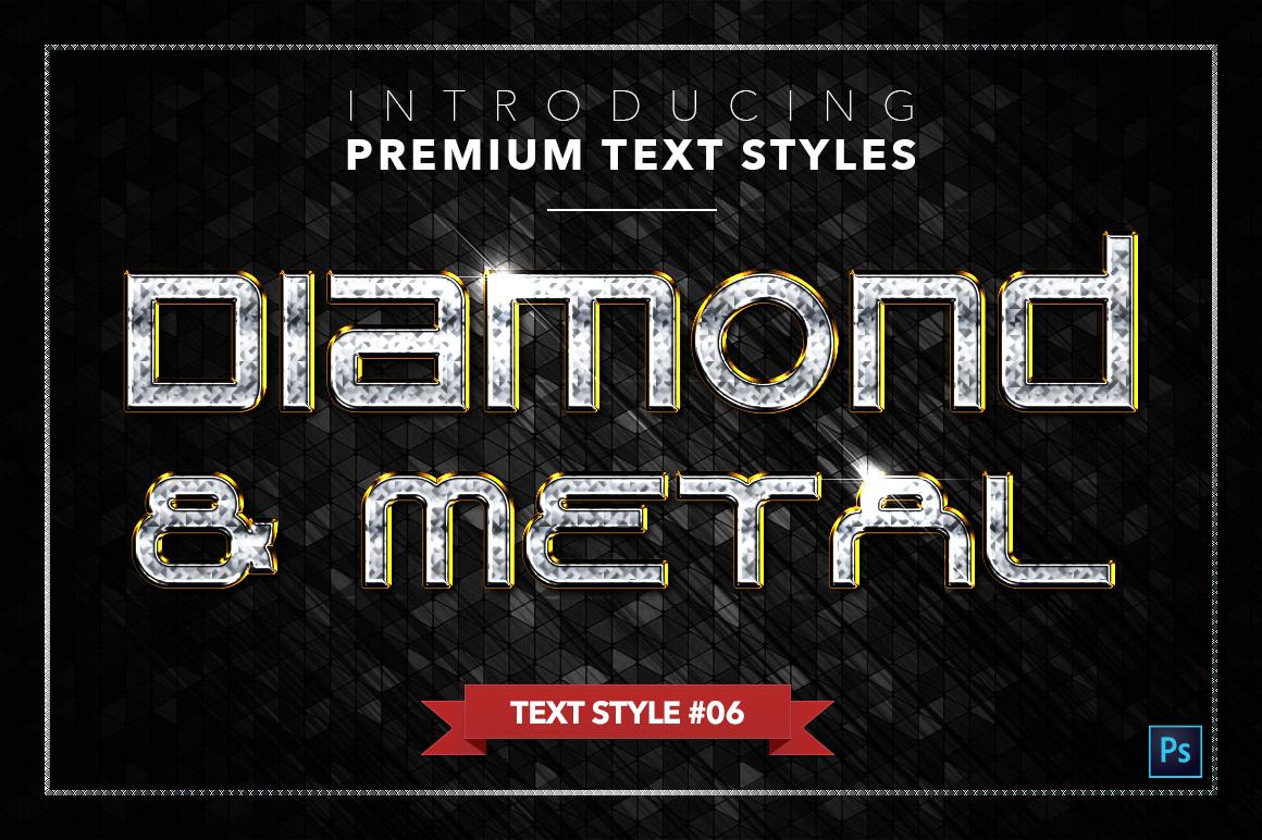 Diamond & Metal #3 - 18 Text Styles example image 7