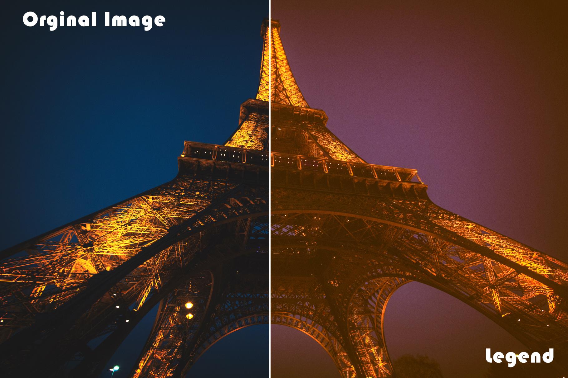 100 Legend Lightroom Presets example image 13