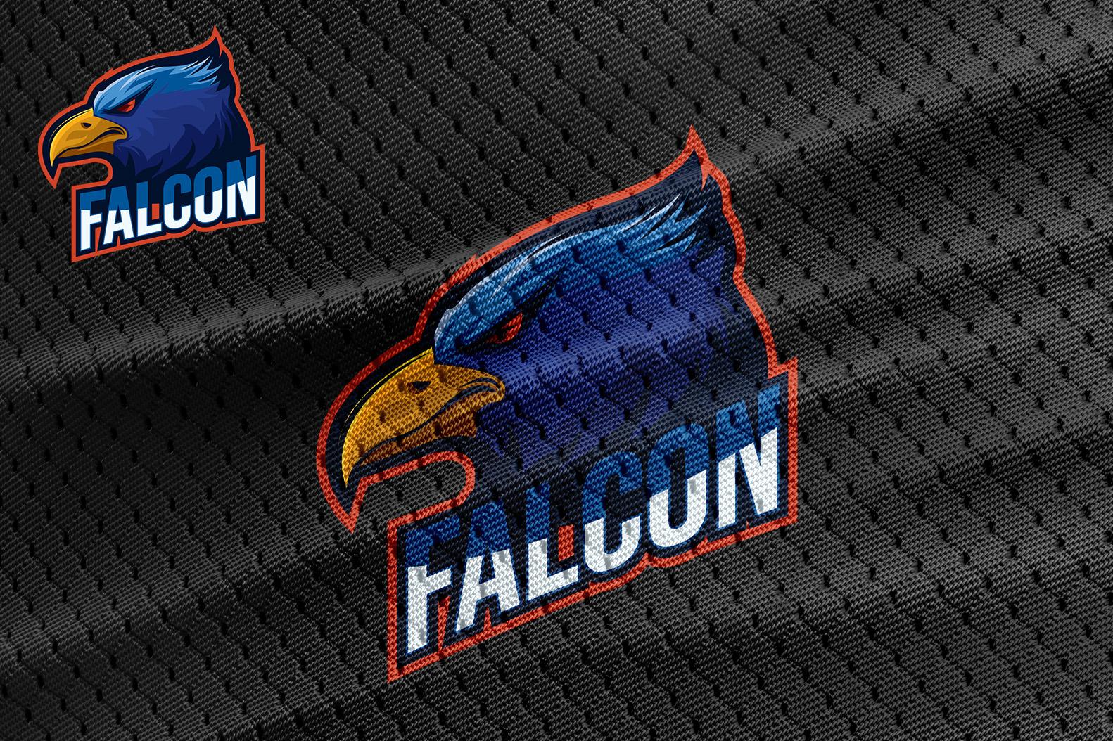 Falcon Eagle Esport Logo Design example image 2