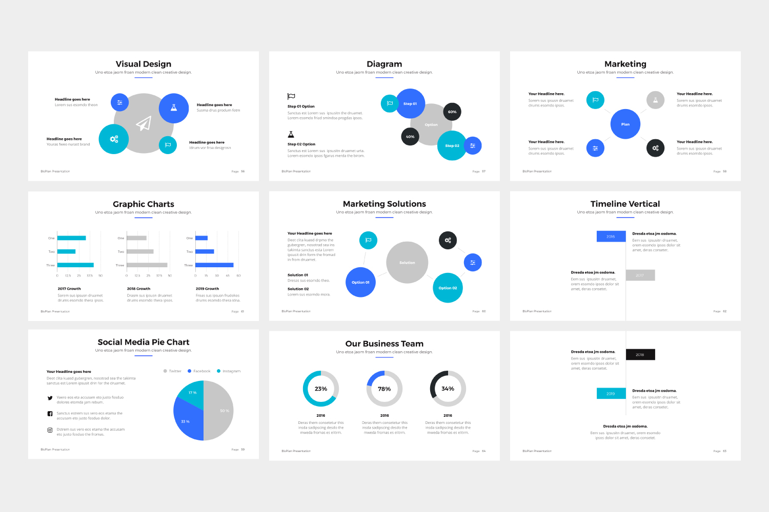 BizPro | Proposal Powerpoint Template example image 3