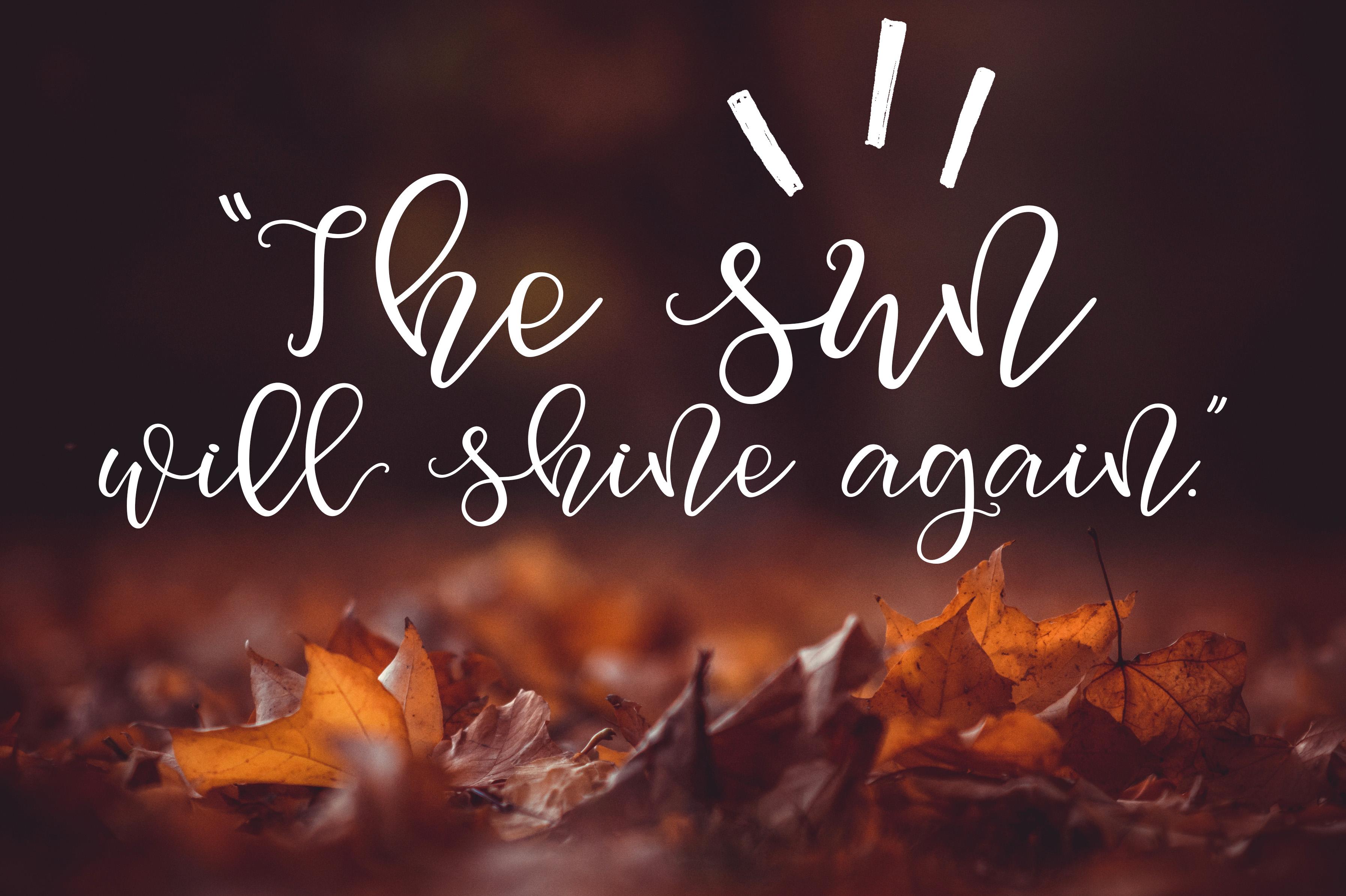 Squirrel Script Font example image 4