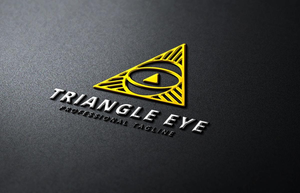 Triangle Eye Logo example image 5