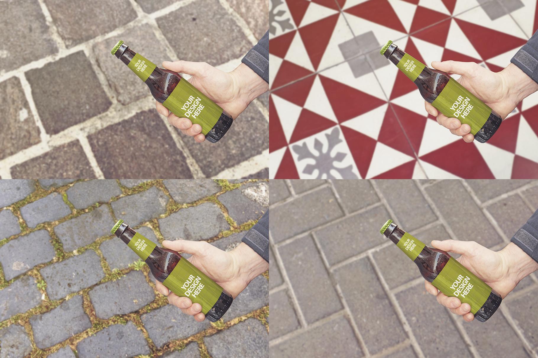 Get Beer Bottle Mockup example image 5