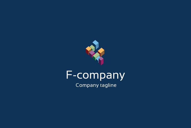 F letter logo example image 2