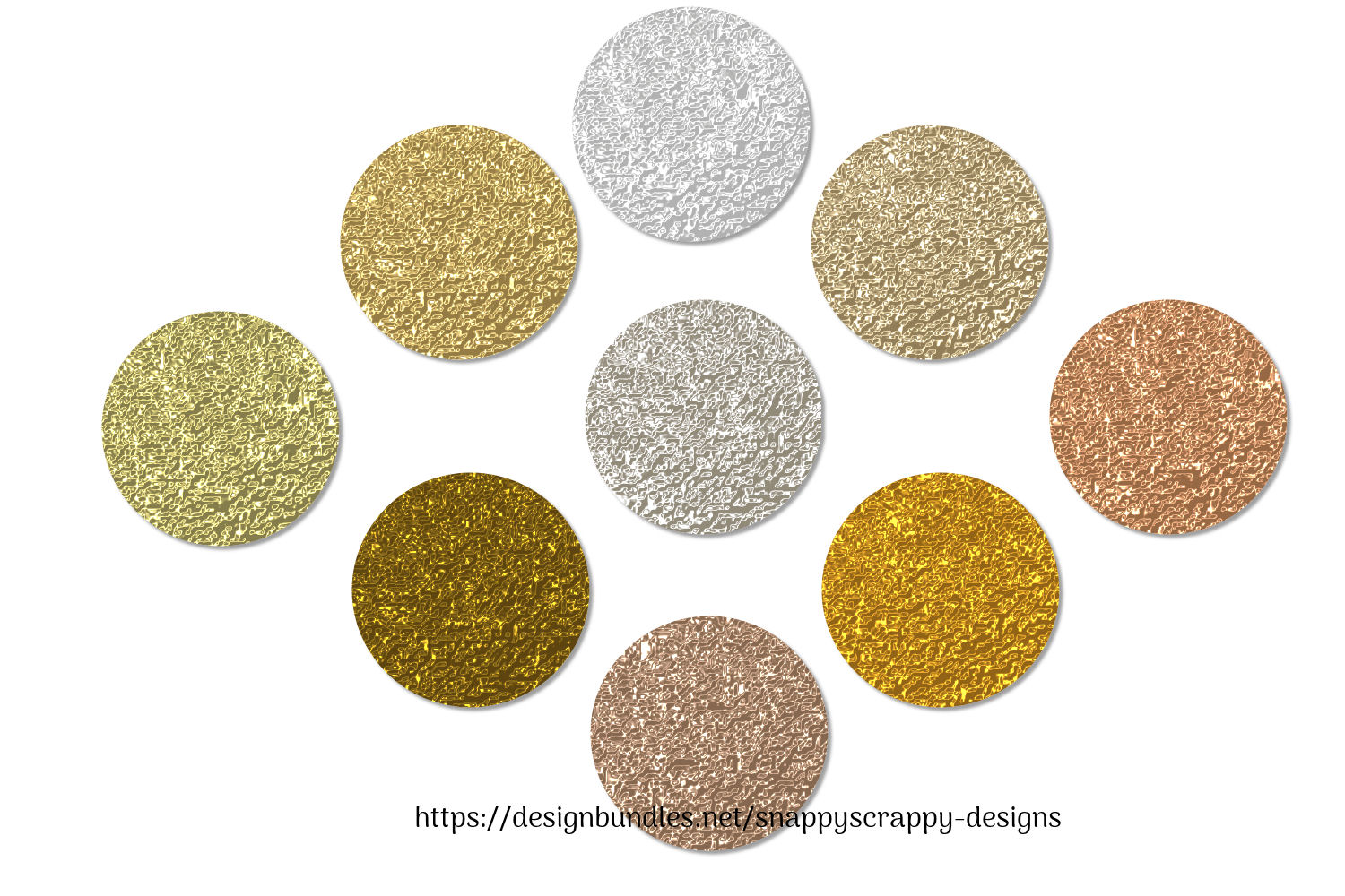 Gold Foil PS Styles example image 3