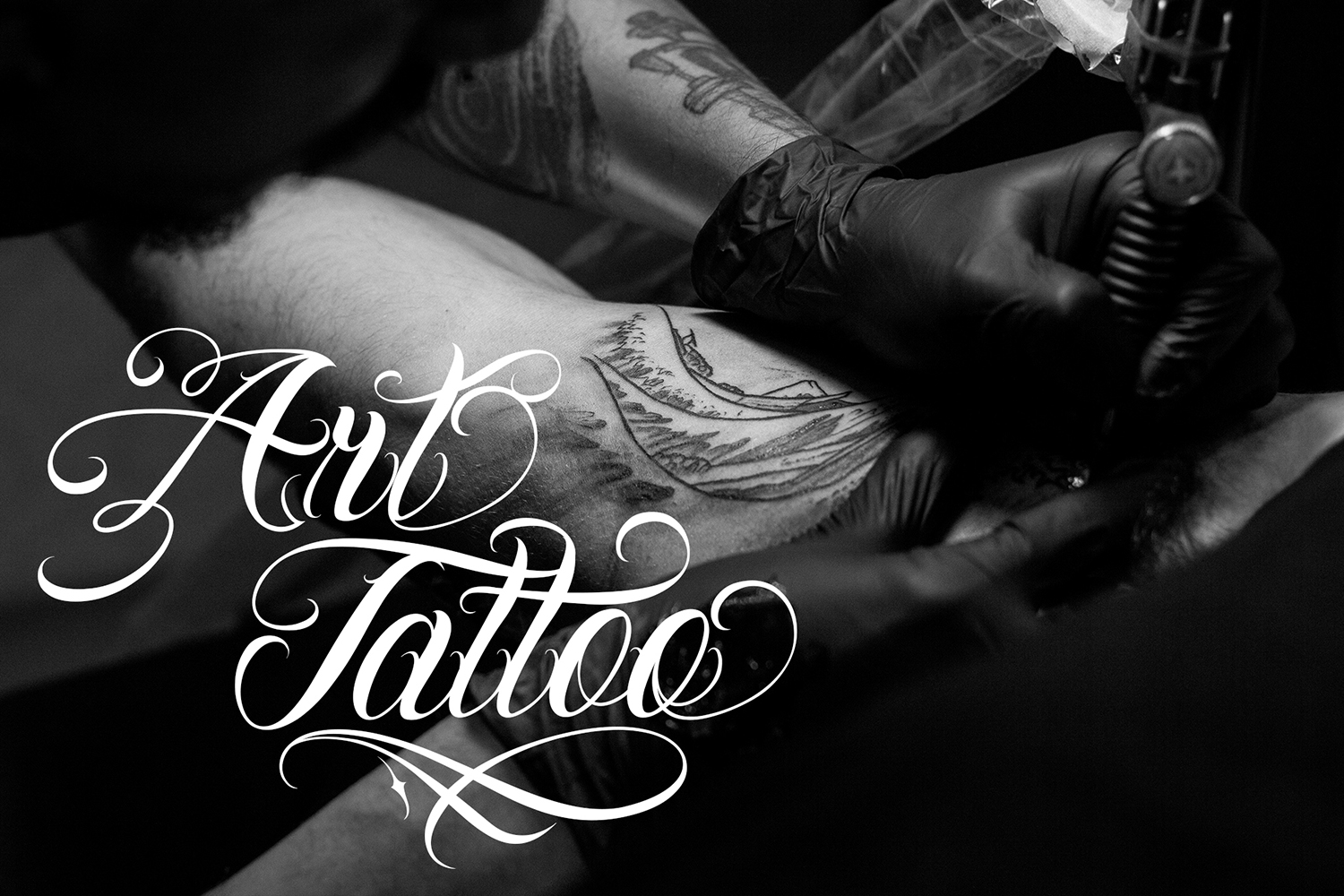 Chicano Font | Tattoo Style example image 4